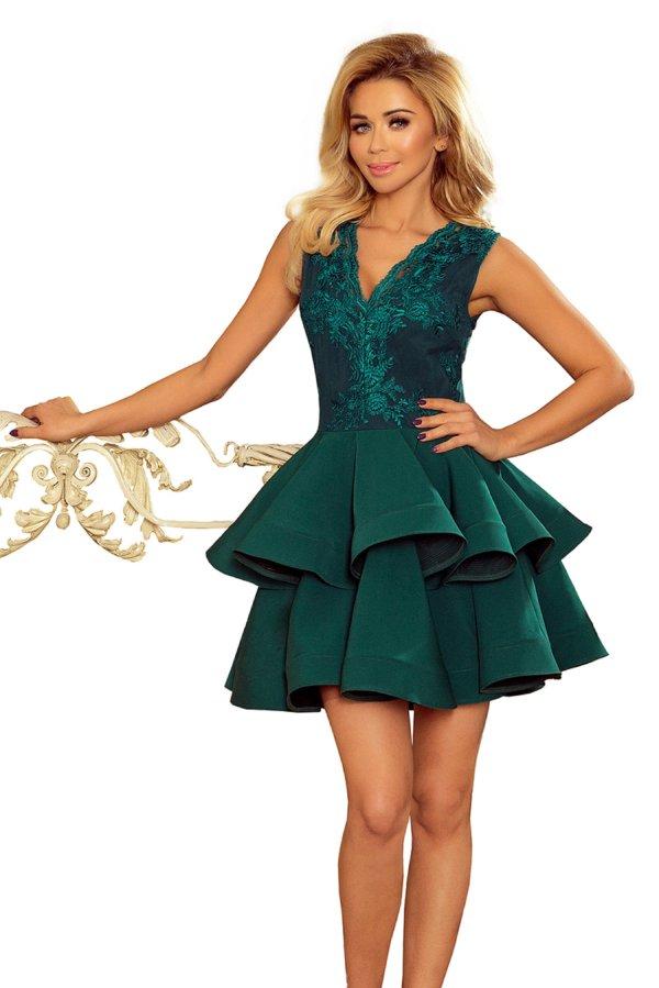 obleka-svečana-krinolina-zelena