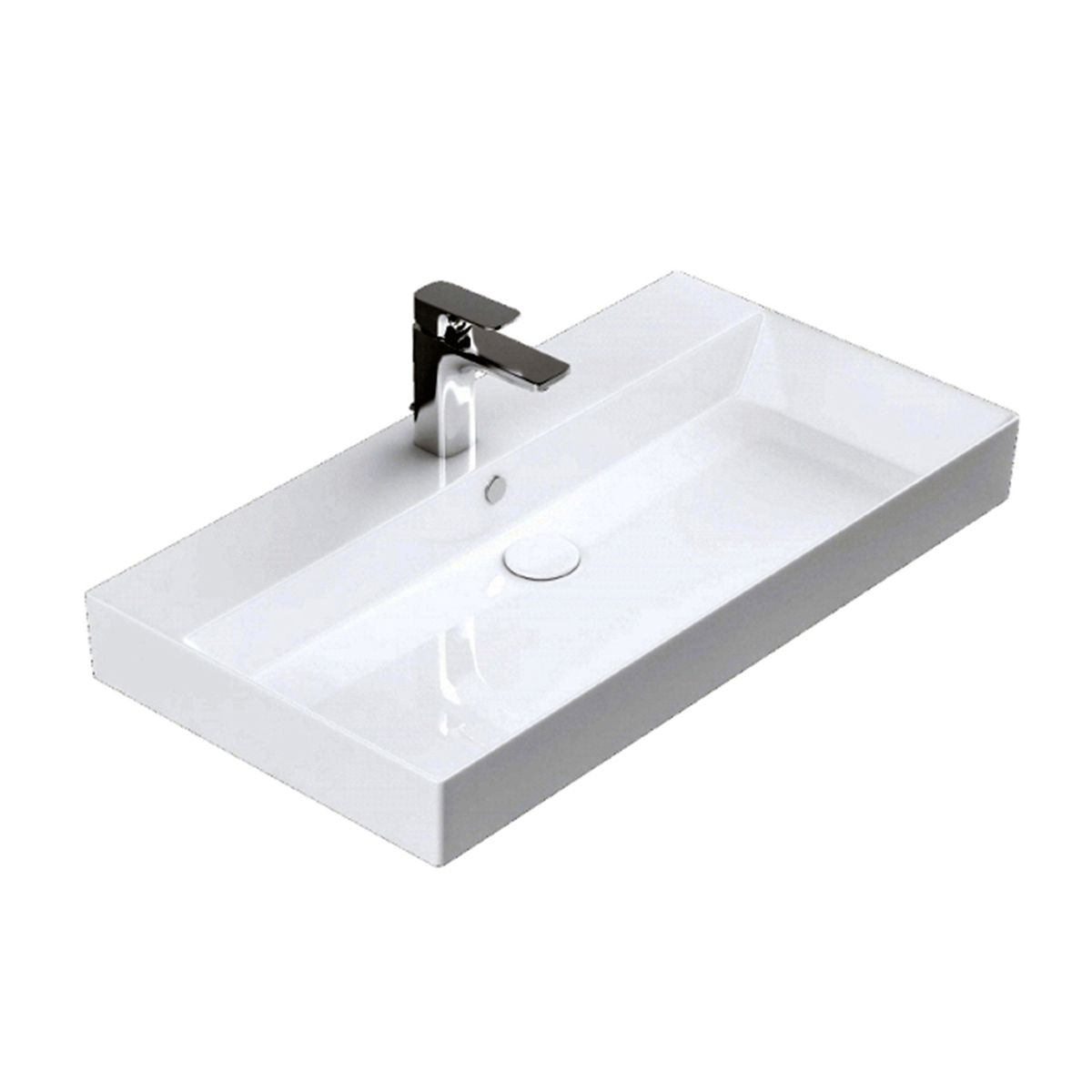 energy 70 ada compliant wall mounted bathroom sink in ceramic white 27 6