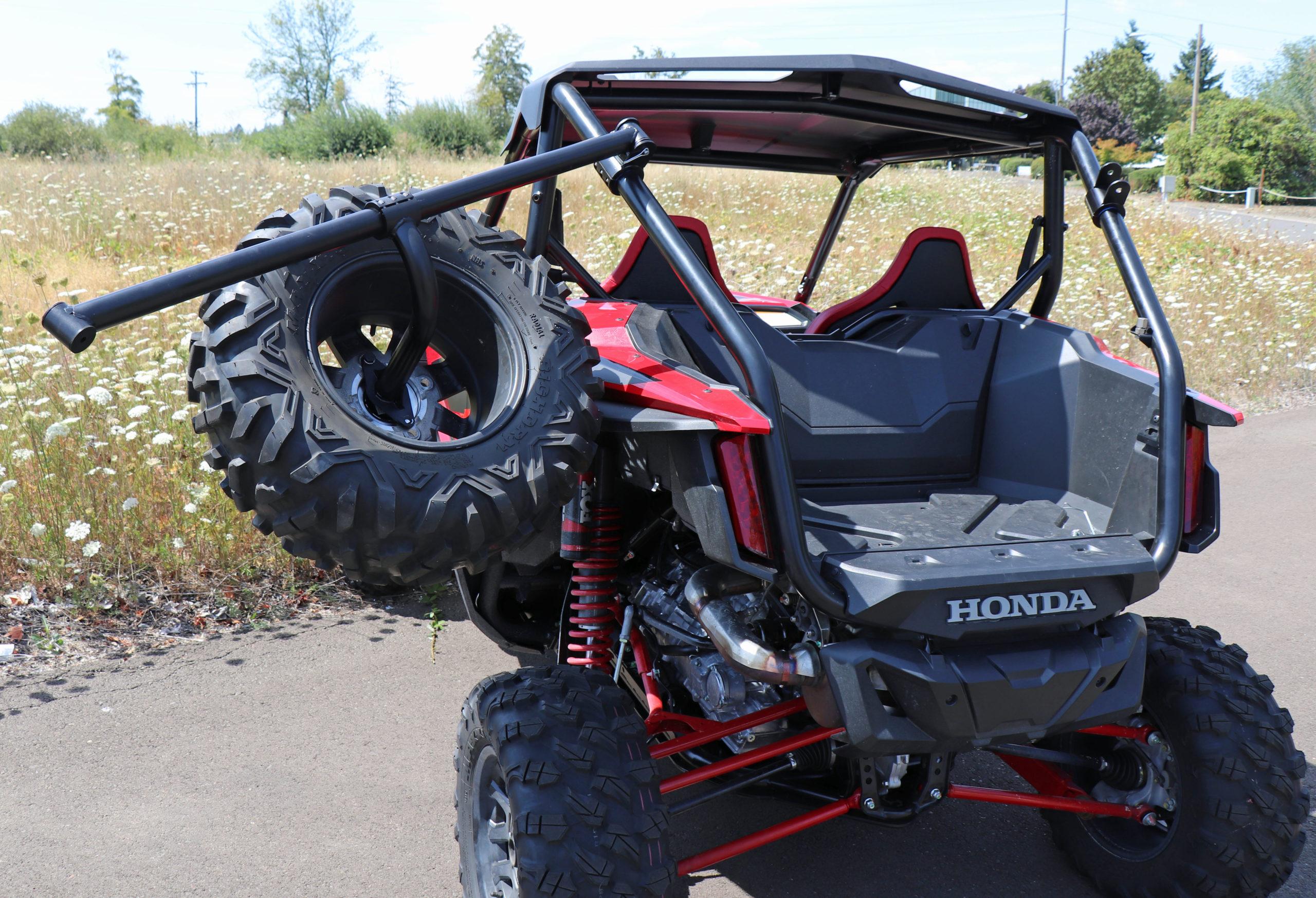 rigid spare tire mount