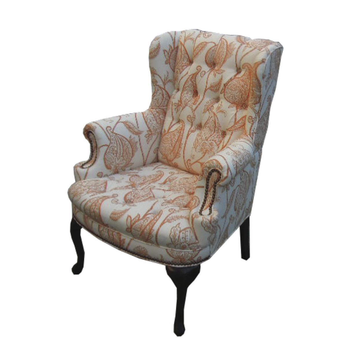 where to get chairs reupholstered buy chair covers and sashes detailing with tufts mod restoration