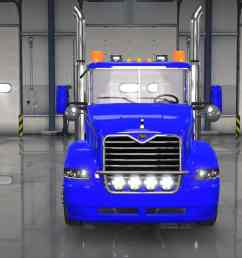 mack vision truck v1 [ 1366 x 768 Pixel ]