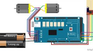 Arduino nrf24 dual drive motor remote controlled car