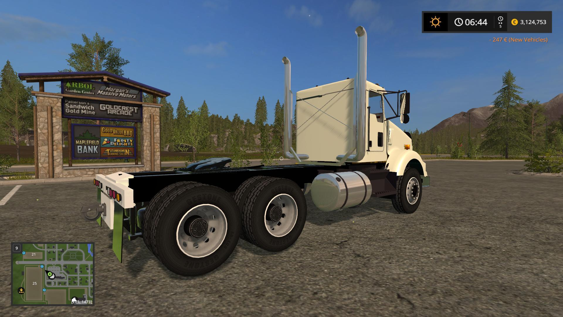 hight resolution of kst kenworth t800 dual axle for that one guy v1 0 for fs 2017