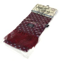 Burgundy Target Tootal Scarf  Vintage / Mod Style  Mod Shoes