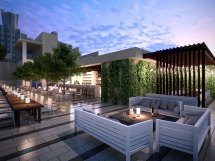 Hotel Rooftop Restaurant