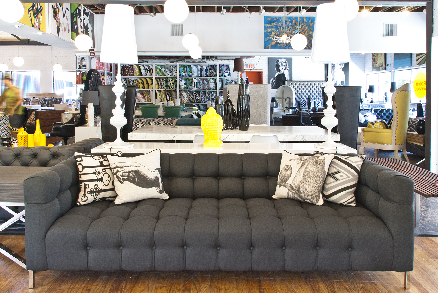 chair design for hotel wingback nailhead modern furniture store in los angeles