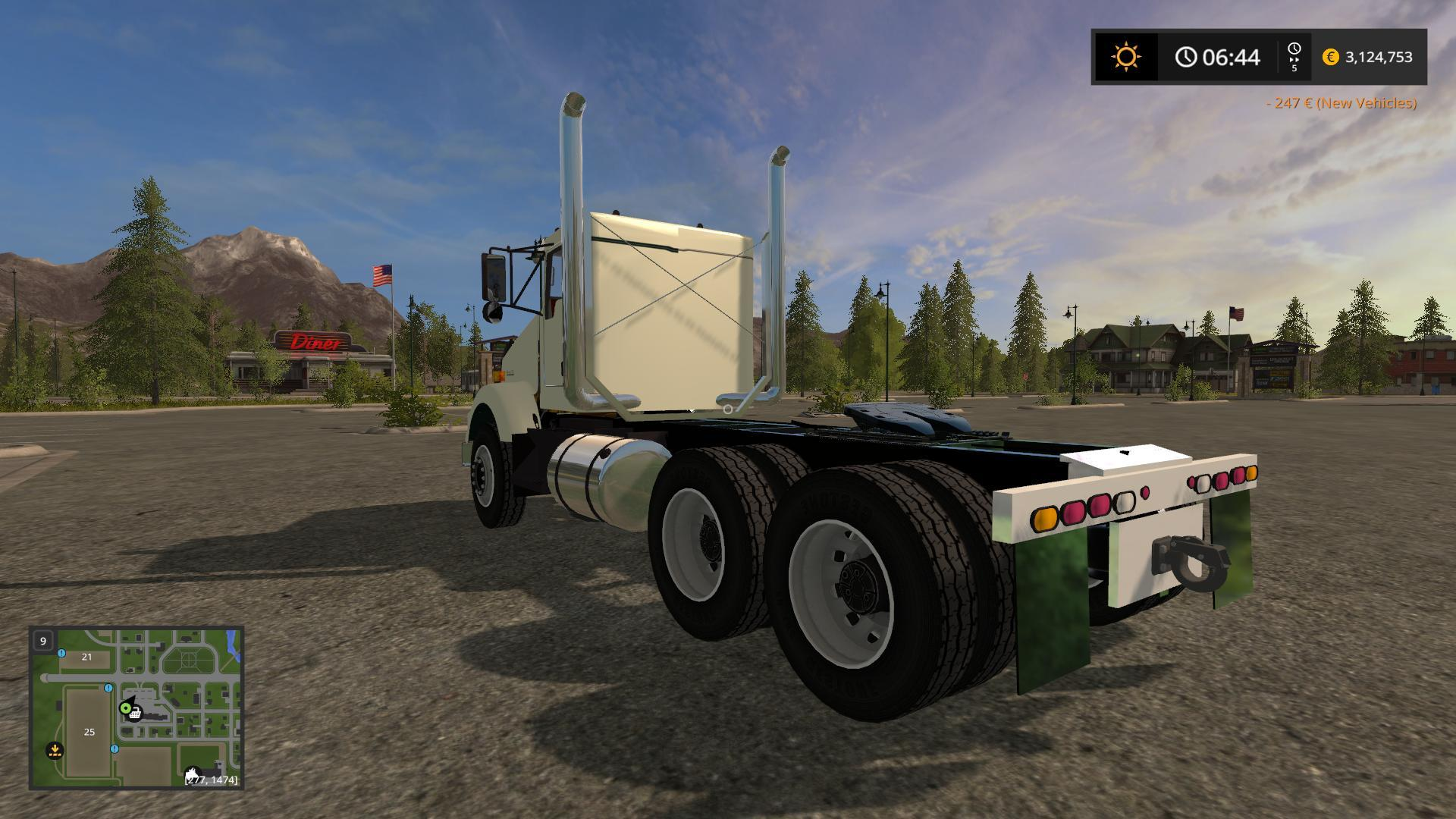 hight resolution of kst kenworth t800 dual axle for that one guy v1 0 ls 2017