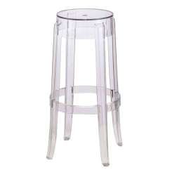 Ghost Chair Bar Stool Covers For Dining Chairs Acrylic Clear