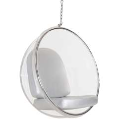 Hanging Chair Clear Metal Side Chairs Eero Aarnio Style Bubble