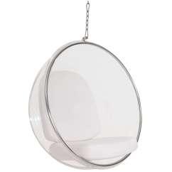 Hanging Chair Clear Covers In Bows Eero Aarnio Style Bubble