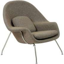Womb Chair - Saarinen Lounge Ottoman Modterior