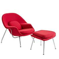 Womb Chair - Saarinen Lounge Ottoman | Modterior