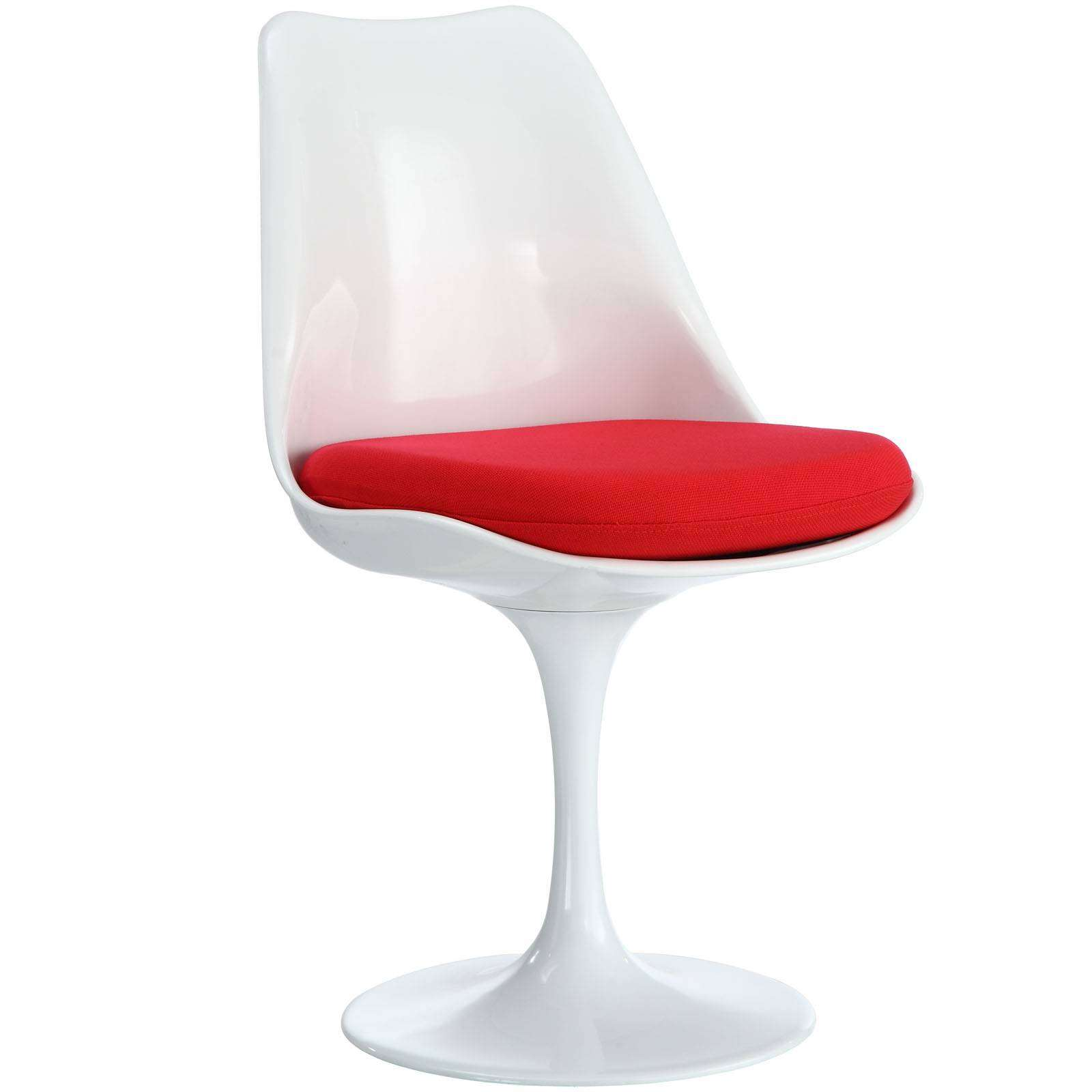 red chaise lounge chair iron throne office cover eero saarinen style tulip side