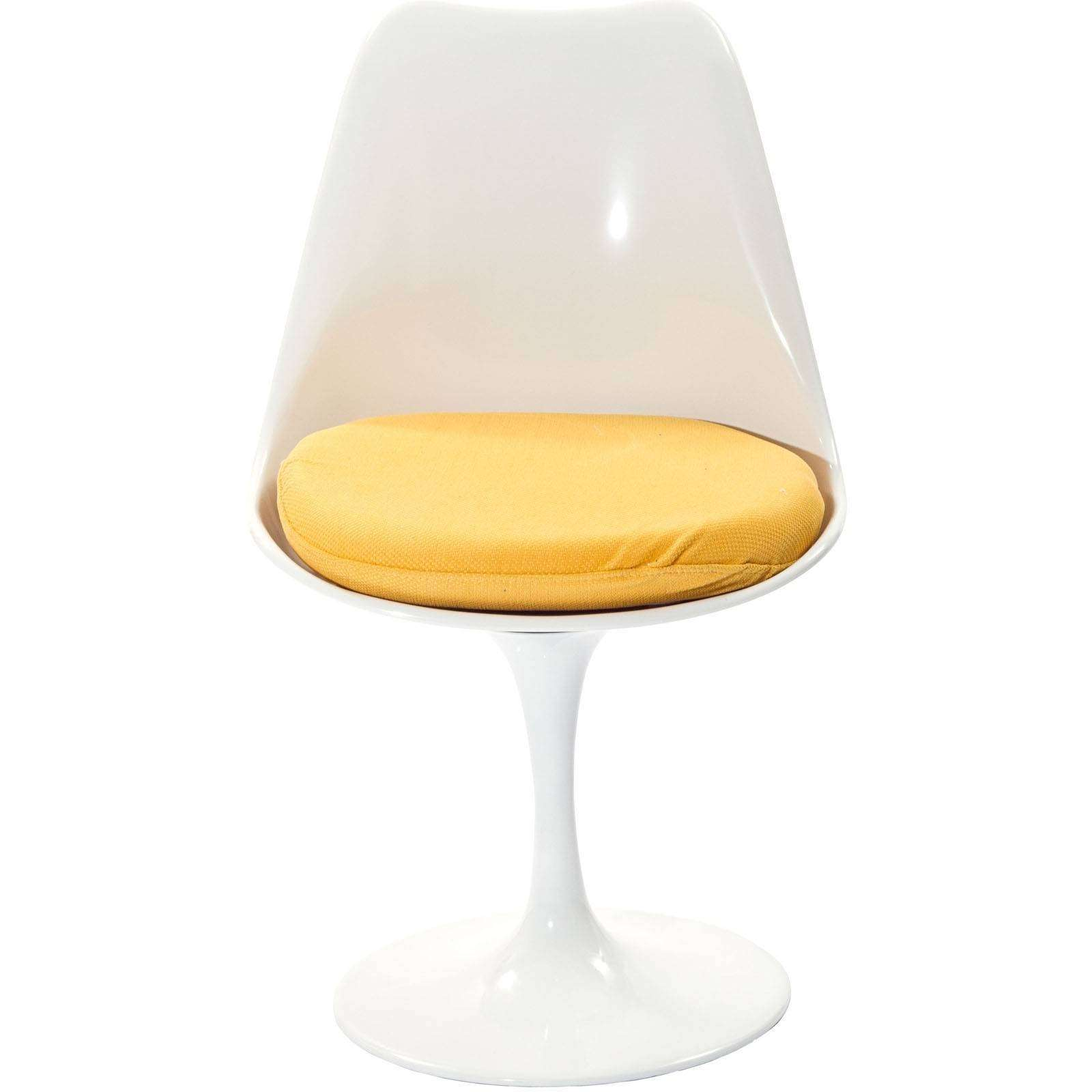 white bertoia side chair beach with wheels and canopy eero saarinen style tulip