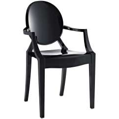 Philippe Starck Ghost Chair Used Wheelchair Lift Style Louis Arm