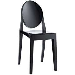 Philippe Starck Ghost Chair Ikea Rolling Style Victoria Side