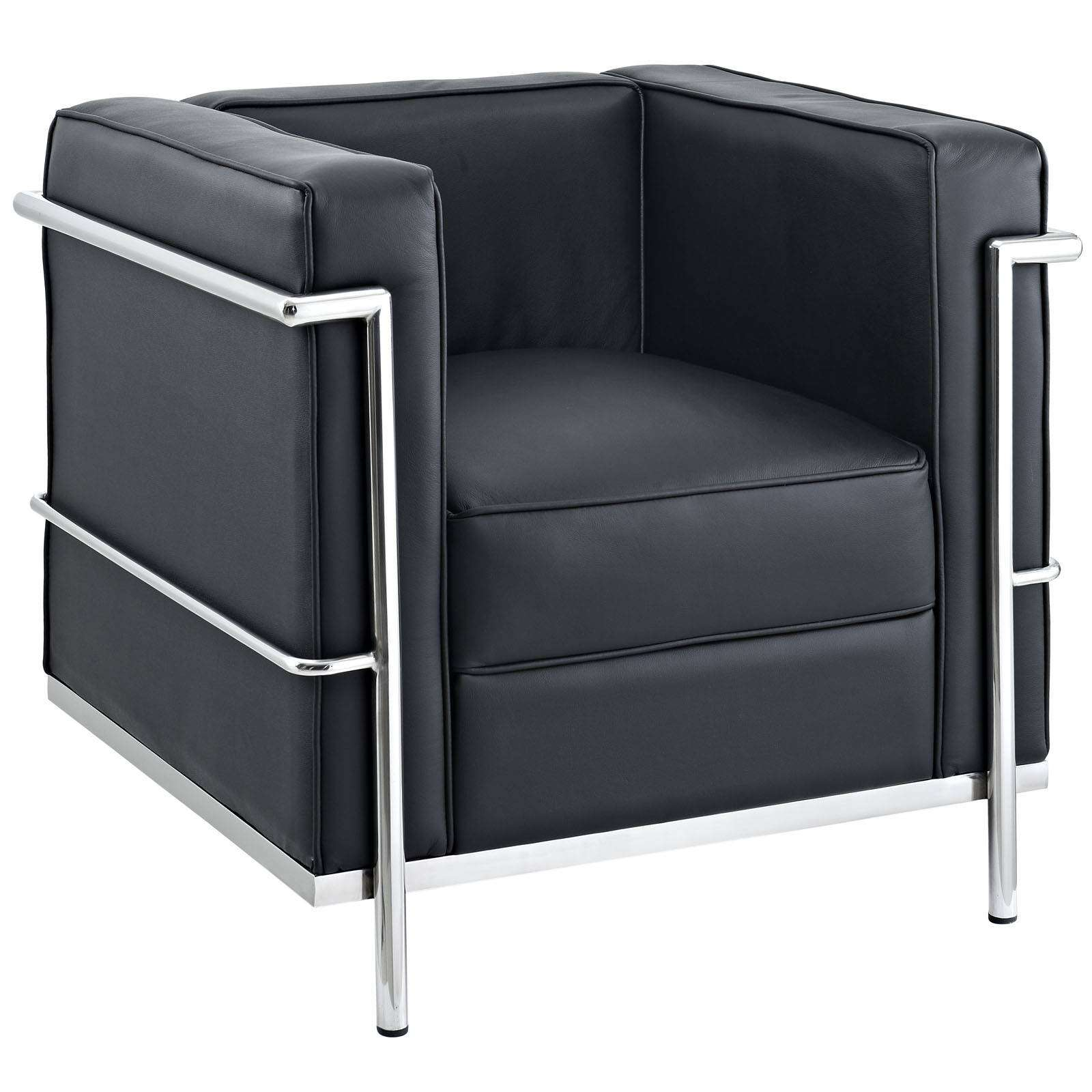 Le Corbusier Style LC2 Arm Chair  Leather