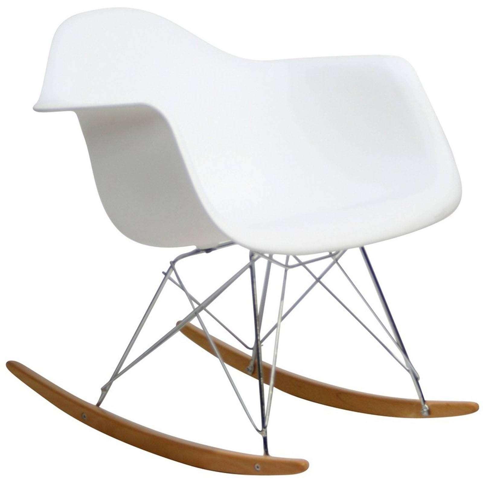 eames bucket chair swing hanger classic rocking lounge