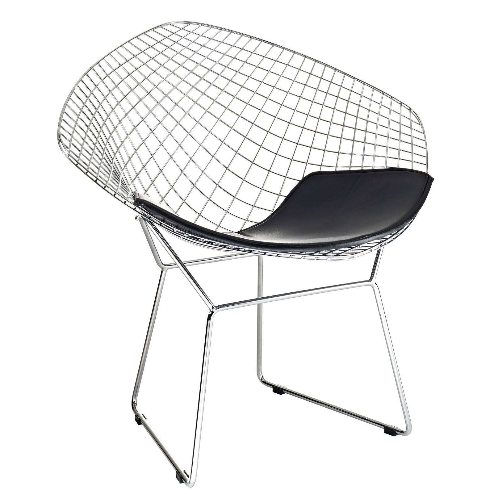 bertoia style chair oversized beach chairs diamond wire