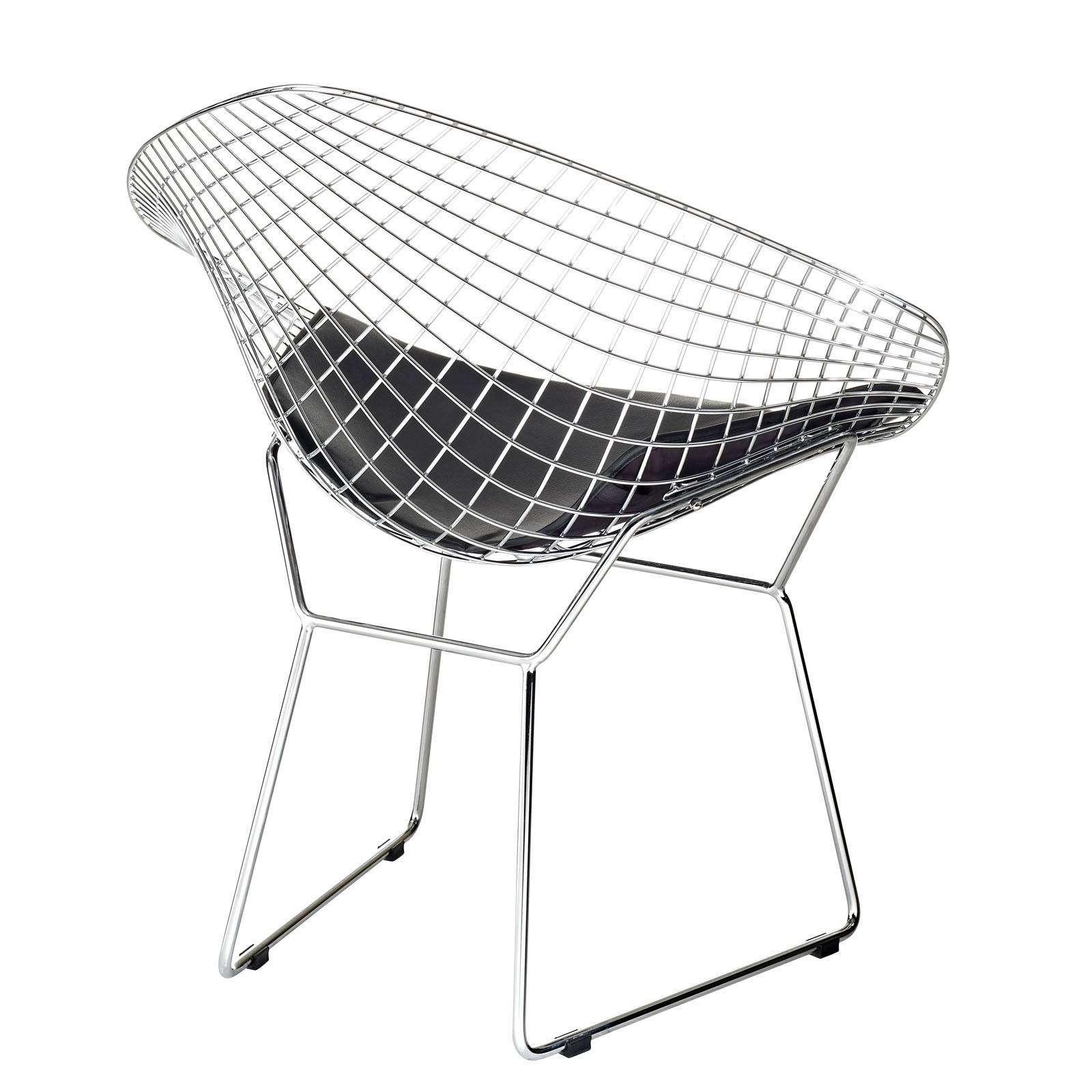 diamond chair replica cushions with ties uk bertoia style wire