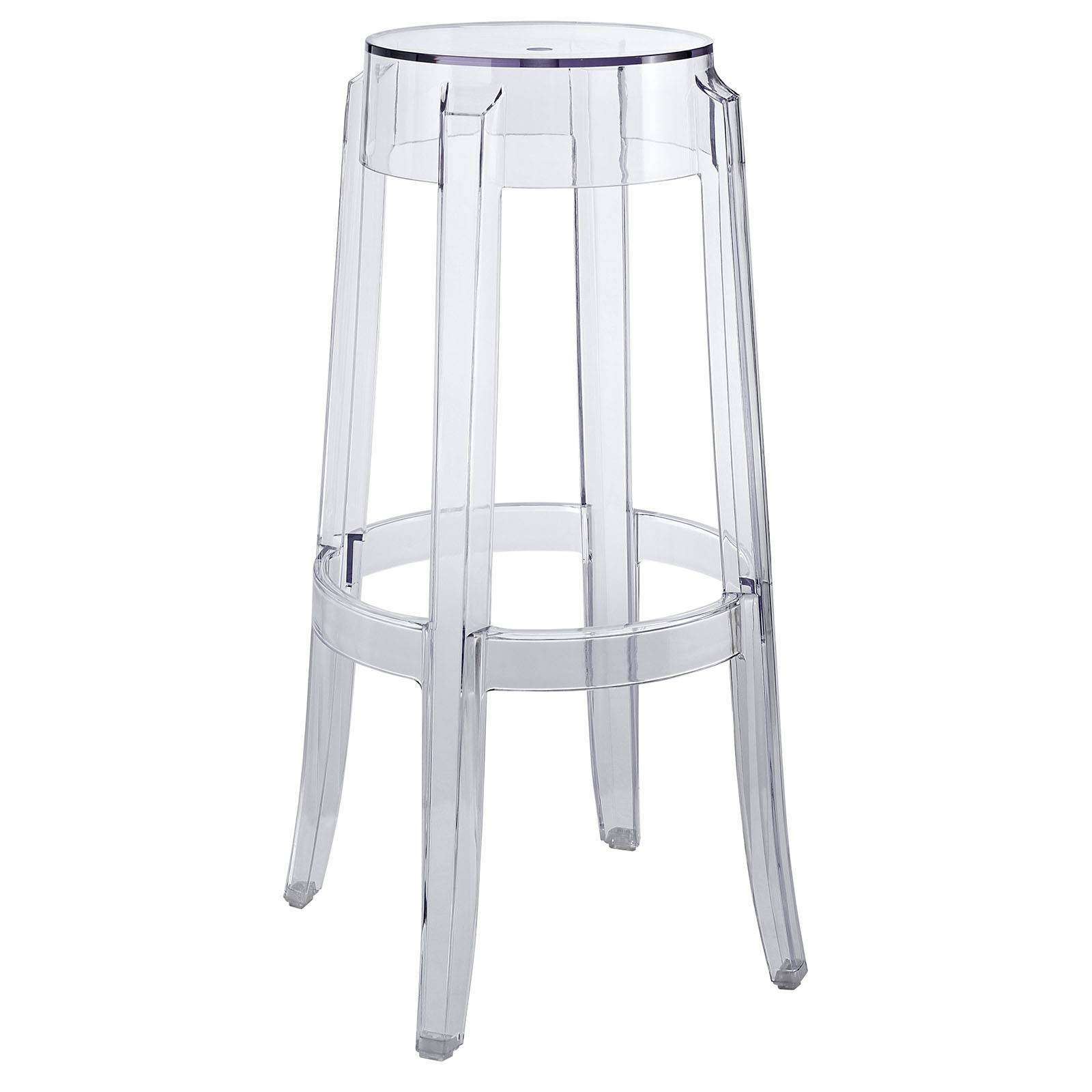 ghost chair bar stool ergonomic grand and toy philippe starck style charles