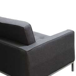 Noguchi Sofa Reproduction Dfs Sofas Belfast Florence Knoll Style Couch Wool
