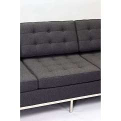 Florence Knoll Sofa Review Clara Apartment Style Couch Wool