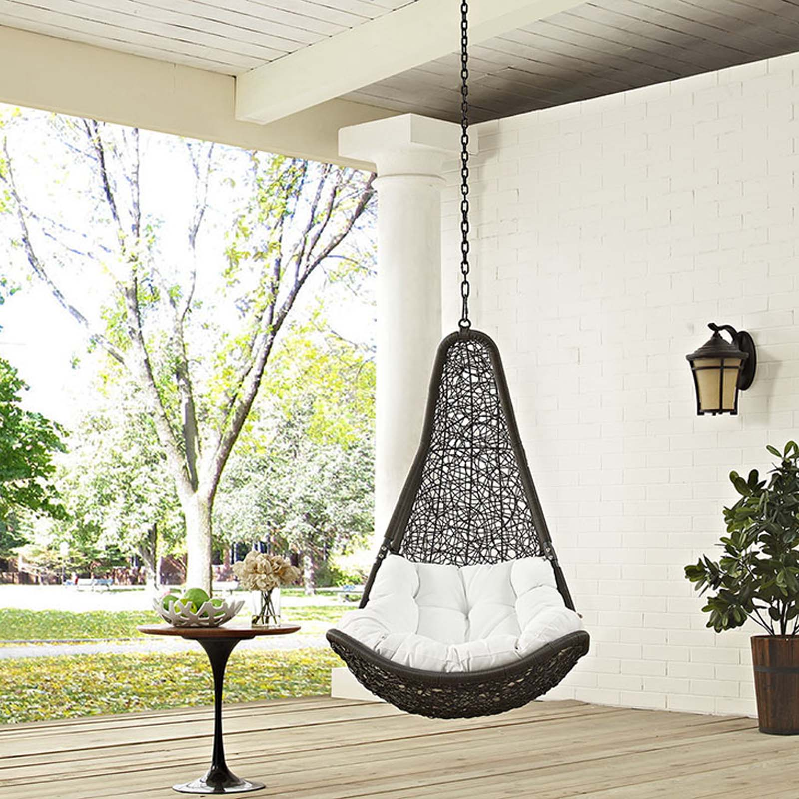 swing chair for a bedroom zero gravity reclining modterior outdoor chairs abate