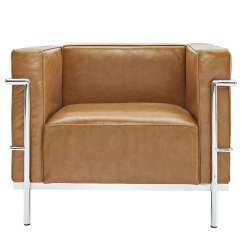 Le Corbusier Chair Cover Hire Chesterfield Style Lc3 Arm Leather