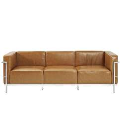 Lc3 Sofa Snuggler Twin Size Sleeper Le Corbusier Style Leather