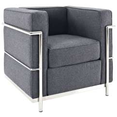 Le Corbusier Chair Aeron Posturefit Style Lc2 Arm Wool
