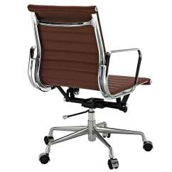 Eames Office Chair Replica Beach Chairs Amazon Aluminum Management Style Modterior