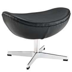Jacobsen Egg Chair Leather Racing Style Office Arne Ottoman For