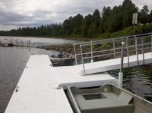 Floating Dock with Gangway Kit