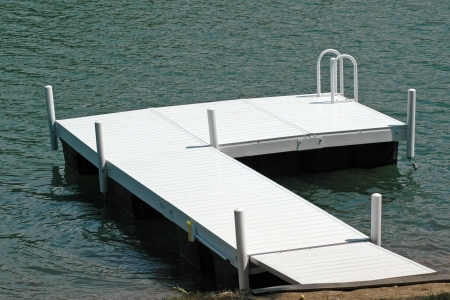 Floating Dock with Ladder