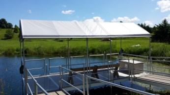 Zachariah's Acres Dock Roof