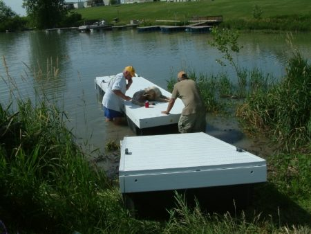 Floating Dock Installation