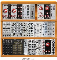 i am looking to set up my first modular and am very interested in the verbos modules how does this look as a starter system  [ 914 x 981 Pixel ]