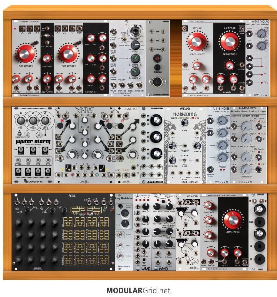 hight resolution of i am looking to set up my first modular and am very interested in the verbos modules how does this look as a starter system