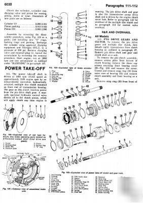 John deere 3010 thru 6030 tractor workshop manual
