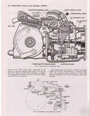 Massey ferguson TEA20 FE35 tractor workshop manual