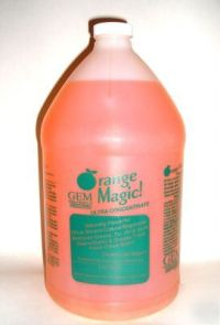Citrus solvent natural degreaser carpet cleaner magic
