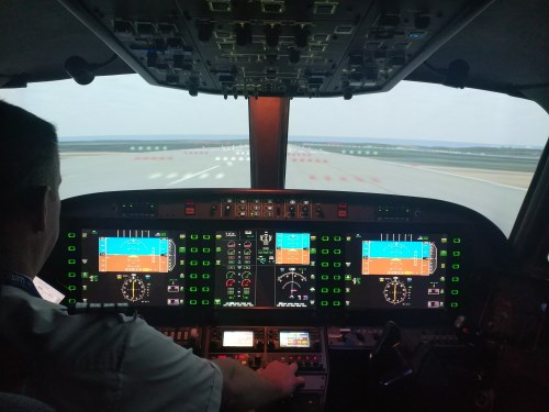 CRM Aviation Simulator