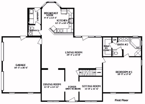 Westmoreland I by Professional Building Systems Two Story