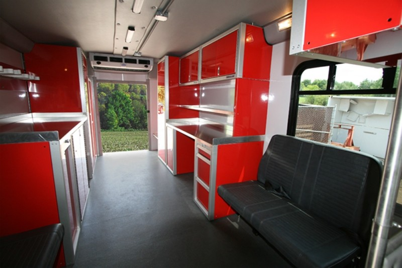Photos of Trailer  Vehicle Lightweight Aluminum Cabinets