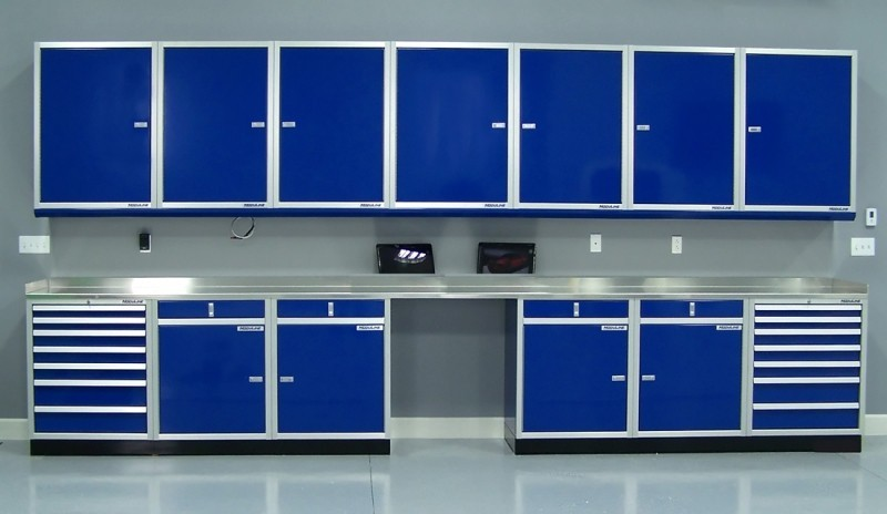 Gallery of Garage & Shop Aluminum Cabinets