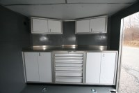 Aluminum Cabinets Enclosed Trailer | Cabinets Matttroy