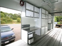 Aluminum Trailer File Storage Cabinets   Moduline Cabinets