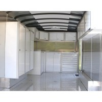 Aluminum Wall Storage Cabinet 181516 Moduline Cabinets
