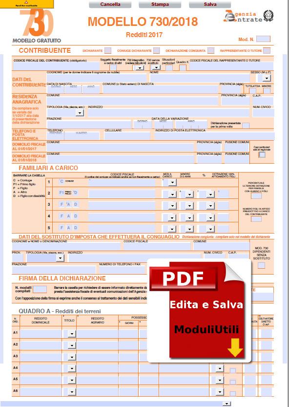 F24 Versamenti Con Elementi Editabile Agenzia Entrate